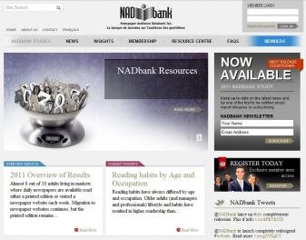 NADbank Drupal Redesign